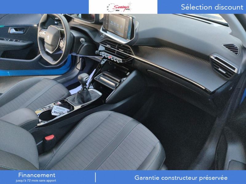 Photo 18 de l'offre de PEUGEOT 208 Allure Pack BlueHDI 100 Camera AR à 19680€ chez Garage Serieys Auto