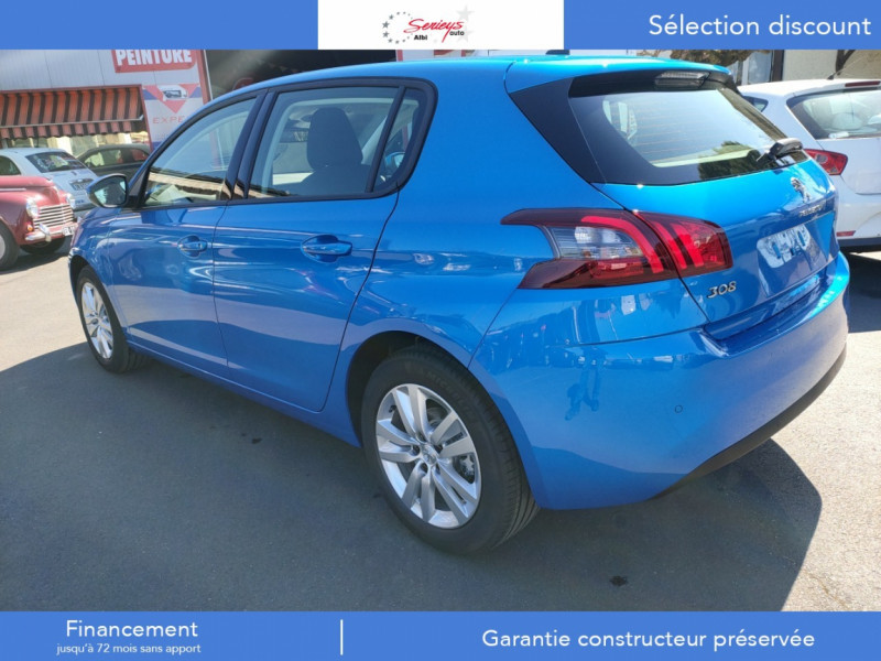 Photo 34 de l'offre de PEUGEOT 308 Active Pack BlueHDi 130 GPS+Camera AR à 20980€ chez Garage Serieys Auto