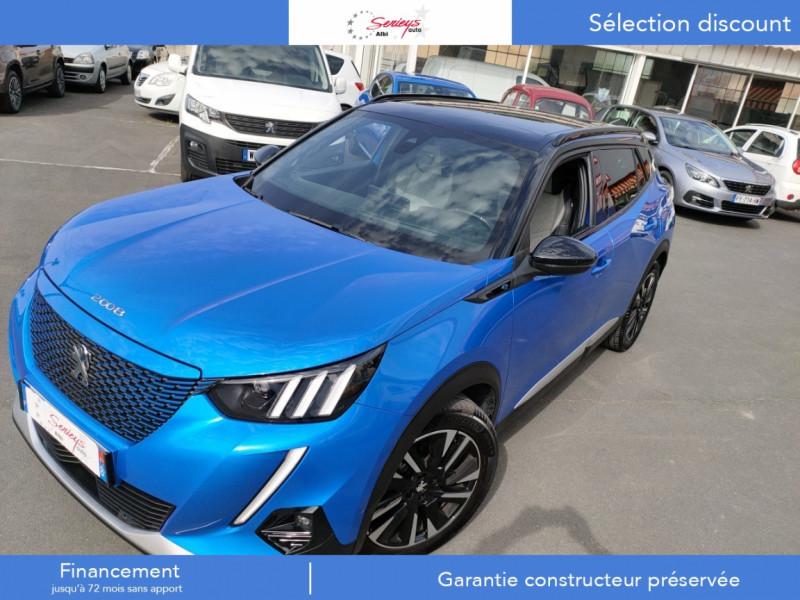 Photo 20 de l'offre de PEUGEOT 2008 GT ELEC 136CV TOIT PANO+CAM AR à 28800€ chez Garage Serieys Auto