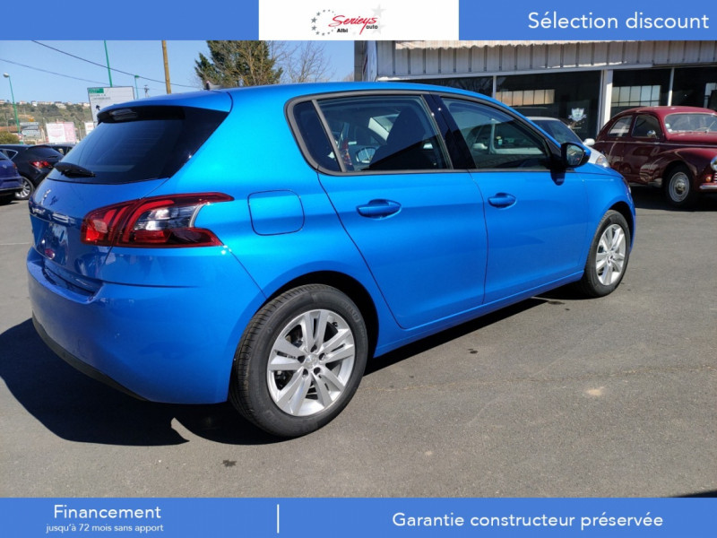 Photo 29 de l'offre de PEUGEOT 308 Active Pack BlueHDi 130 GPS+Camera AR à 20980€ chez Garage Serieys Auto