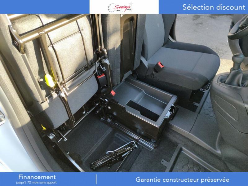 Photo 8 de l'offre de PEUGEOT PARTNER FGN PRO BLUEHDI 100 STD CAMERA+3PL à 18480€ chez Garage Serieys Auto
