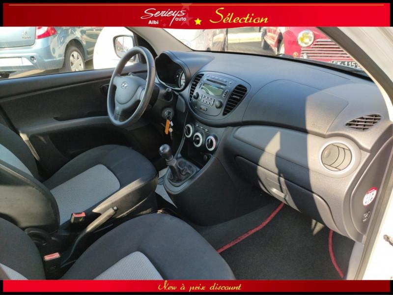 Photo 15 de l'offre de HYUNDAI i10 Pack 1.1 CRDi 75 - A SAISIR à 3980€ chez Garage Serieys Auto