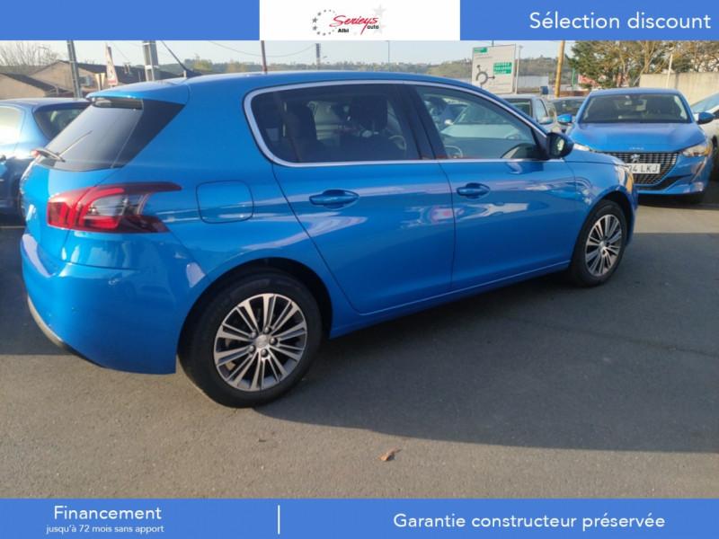 Photo 6 de l'offre de PEUGEOT 308 Allure Pack BlueHDi 130 EAT8 Full Led+JA16 Biton à 24480€ chez Garage Serieys Auto