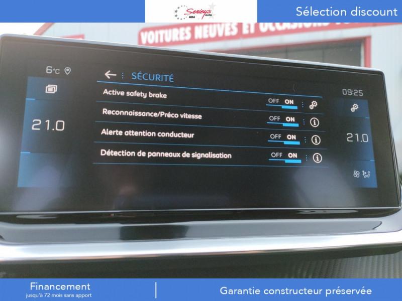 Photo 27 de l'offre de PEUGEOT 208 Allure Pack BlueHDi 100 Camera AR GPS à 19380€ chez Garage Serieys Auto