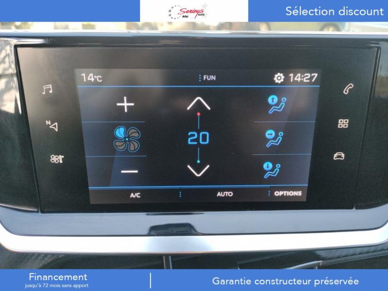 Photo 10 de l'offre de PEUGEOT 208 Allure Pack BlueHDI 100 Camera AR à 19680€ chez Garage Serieys Auto
