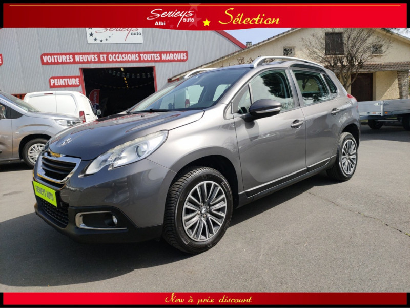 Peugeot 2008 Active 1.2 PureTech 82 GPS CT OK Essence sans plomb GRIS PLATINIUM METAL Occasion à vendre