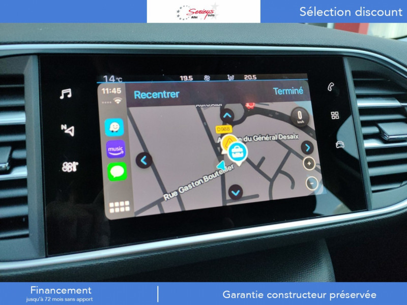 Photo 30 de l'offre de PEUGEOT 308 Active Pack BlueHDi 130 GPS+Camera AR à 20980€ chez Garage Serieys Auto