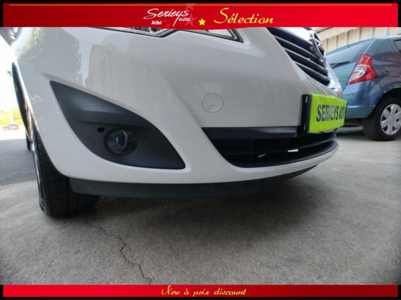 Photo 8 de l'offre de OPEL MERIVA Cosmo 1.3 CDTI 95 JA16+REGUL+CLIM AUTO à 5880€ chez Garage Serieys Auto