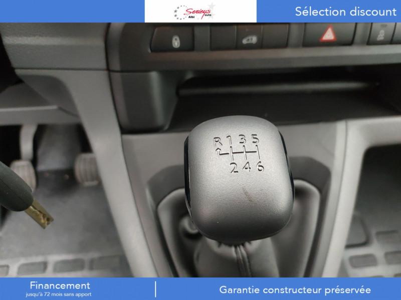 Photo 5 de l'offre de PEUGEOT EXPERT FGN PRO BLUEHDI 120 PK AIR 3 PLACES à 24780€ chez Garage Serieys Auto