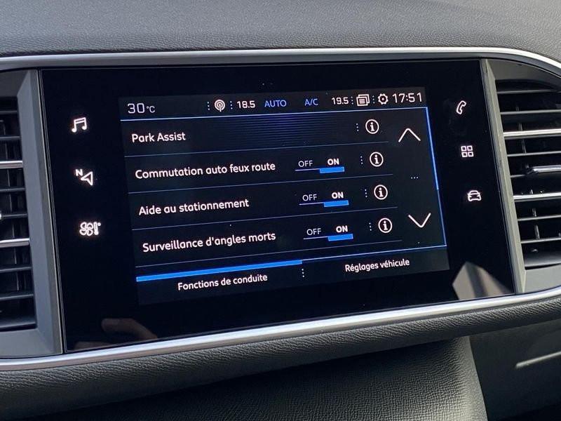 Photo 2 de l'offre de PEUGEOT 308 Allure Pack BlueHDI 130 LED+PK ASSIST à 22890€ chez Garage Serieys Auto