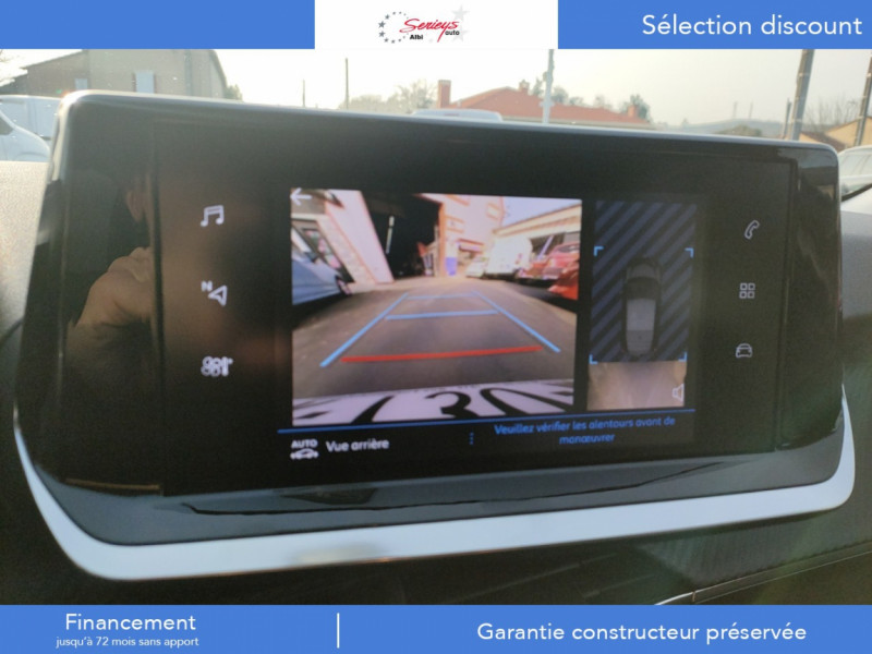 Photo 2 de l'offre de PEUGEOT 208 Allure Pack PureTech 100 Camera AR à 19880€ chez Garage Serieys Auto
