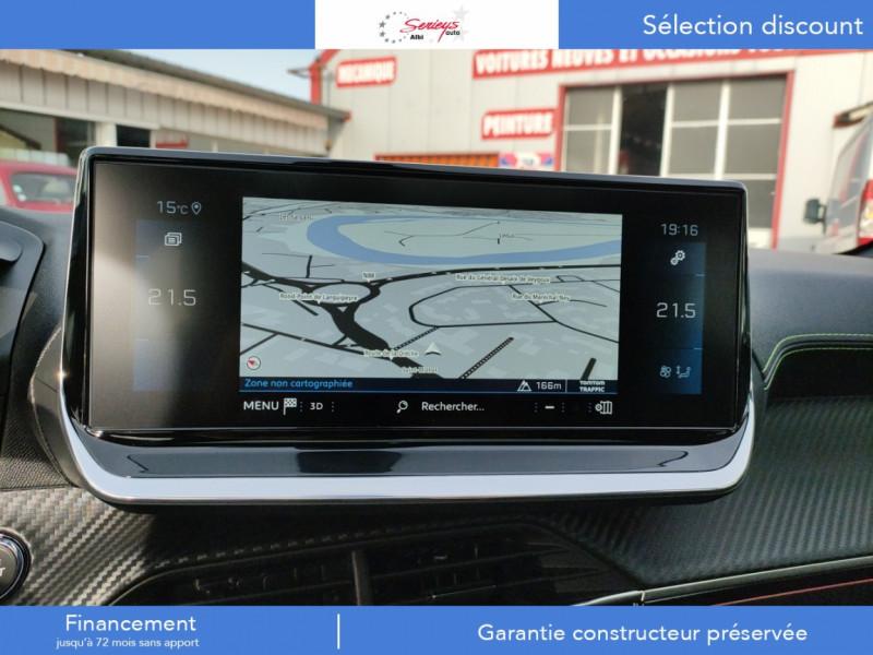 Photo 15 de l'offre de PEUGEOT 208 GT Pack BlueHDi 100 Camera AR+Toit Pan à 23880€ chez Garage Serieys Auto