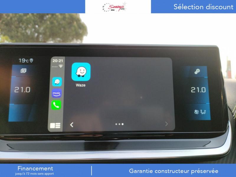 Photo 22 de l'offre de PEUGEOT 208 GT Pack BlueHDi 100 Camera AR+Toit Pan à 23880€ chez Garage Serieys Auto