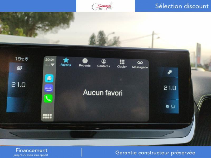 Photo 17 de l'offre de PEUGEOT 208 GT Pack BlueHDi 100 Camera AR+Toit Pan à 23880€ chez Garage Serieys Auto