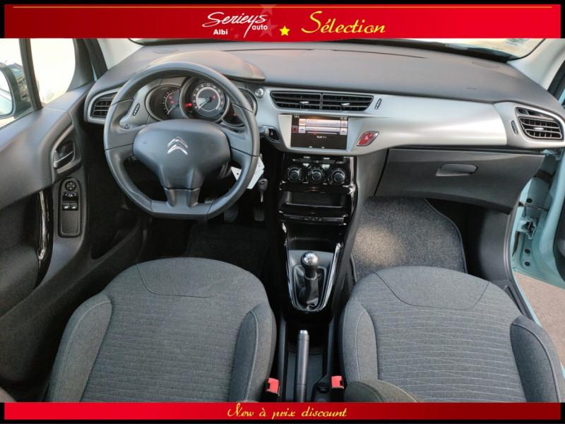 Photo 10 de l'offre de CITROEN C3 Feel Edition BlueHDi 75 GPS+CAMERA+JA à 9680€ chez Garage Serieys Auto