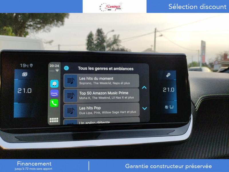 Photo 43 de l'offre de PEUGEOT 208 GT Pack BlueHDi 100 Camera AR+Toit Pan à 23880€ chez Garage Serieys Auto