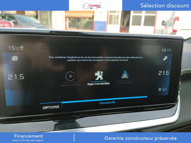 Photo 49 de l'offre de PEUGEOT 208 GT Pack BlueHDi 100 Camera AR+Toit Pan à 23880€ chez Garage Serieys Auto