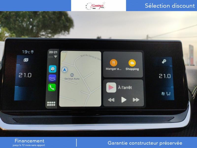 Photo 23 de l'offre de PEUGEOT 208 GT Pack BlueHDi 100 Camera AR+Toit Pan à 23880€ chez Garage Serieys Auto