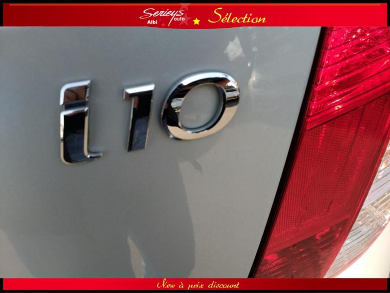 Photo 10 de l'offre de HYUNDAI i10 Pack 1.1 CRDi 75 - A SAISIR à 3980€ chez Garage Serieys Auto