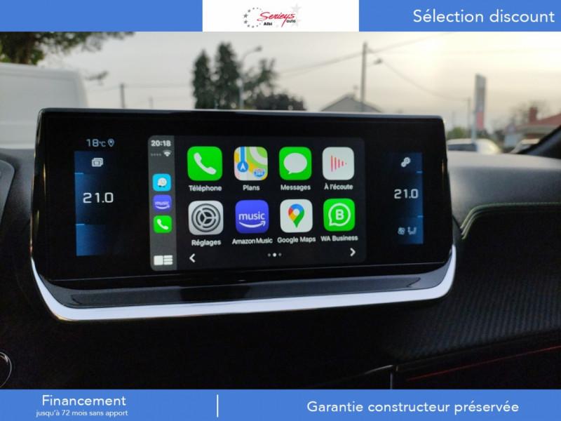 Photo 16 de l'offre de PEUGEOT 208 GT Pack BlueHDi 100 Camera AR+Toit Pan à 23880€ chez Garage Serieys Auto
