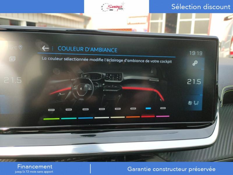 Photo 20 de l'offre de PEUGEOT 208 GT Pack BlueHDi 100 Camera AR+Toit Pan à 23880€ chez Garage Serieys Auto