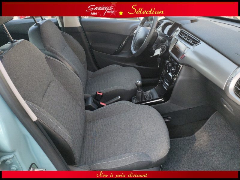Photo 13 de l'offre de CITROEN C3 Feel Edition BlueHDi 75 GPS+CAMERA+JA à 9680€ chez Garage Serieys Auto