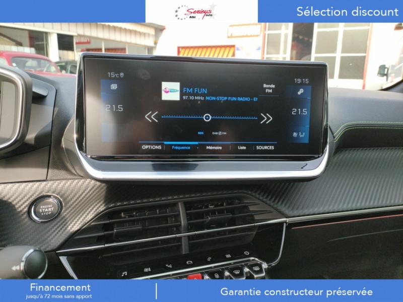 Photo 9 de l'offre de PEUGEOT 208 GT Pack BlueHDi 100 Camera AR+Toit Pan à 23880€ chez Garage Serieys Auto