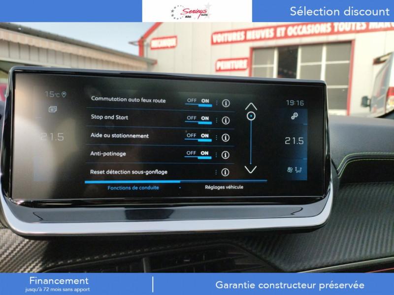 Photo 48 de l'offre de PEUGEOT 208 GT Pack BlueHDi 100 Camera AR+Toit Pan à 23880€ chez Garage Serieys Auto