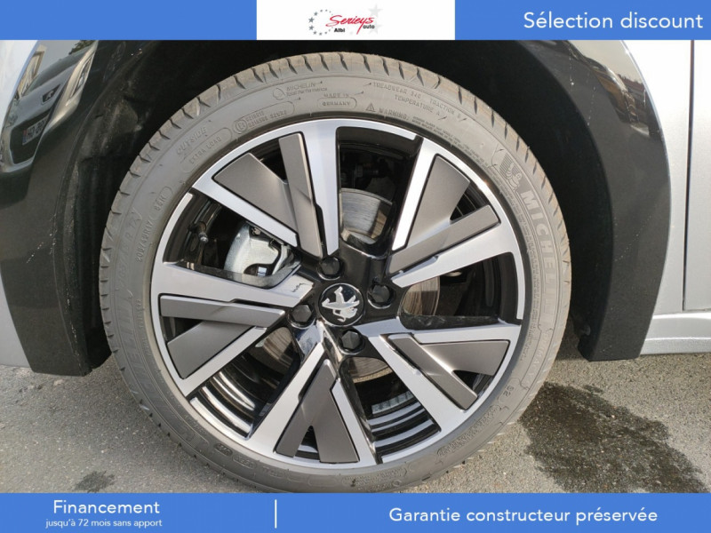 Photo 45 de l'offre de PEUGEOT 208 GT Pack BlueHDi 100 Camera AR+Toit Pan à 23880€ chez Garage Serieys Auto