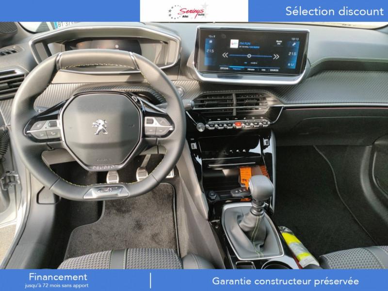 Photo 5 de l'offre de PEUGEOT 208 GT Pack BlueHDi 100 Camera AR+Toit Pan à 23880€ chez Garage Serieys Auto