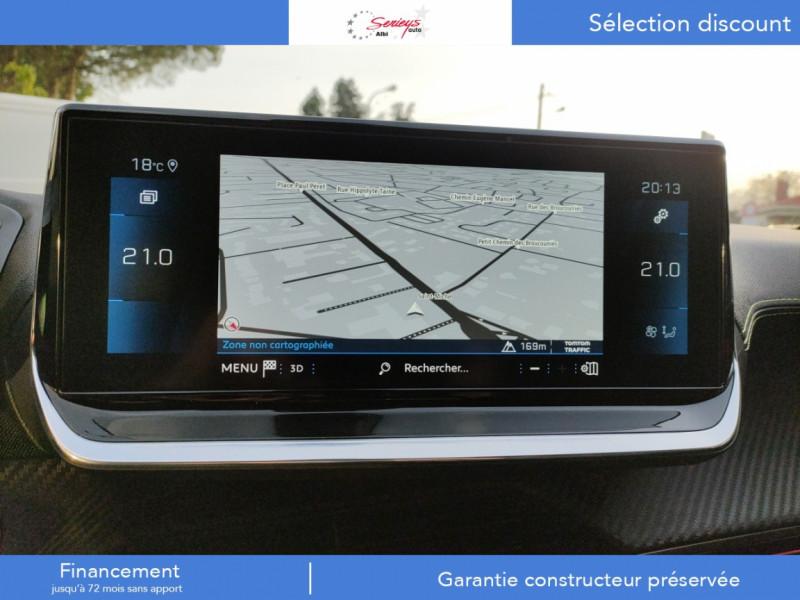 Photo 10 de l'offre de PEUGEOT 208 GT Pack BlueHDi 100 Camera AR+Toit Pan à 23880€ chez Garage Serieys Auto