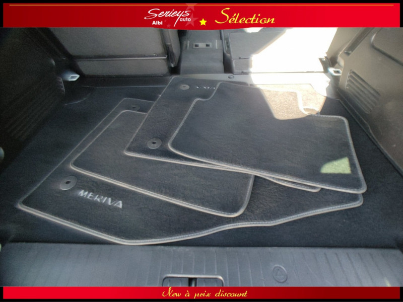 Photo 18 de l'offre de OPEL MERIVA Cosmo 1.3 CDTI 95 JA16+REGUL+CLIM AUTO à 5880€ chez Garage Serieys Auto