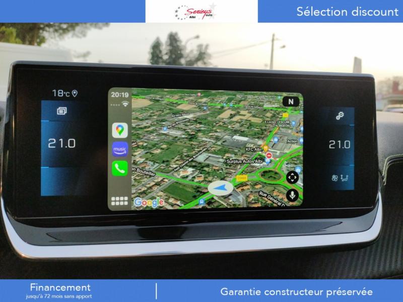 Photo 13 de l'offre de PEUGEOT 208 GT Pack BlueHDi 100 Camera AR+Toit Pan à 23880€ chez Garage Serieys Auto
