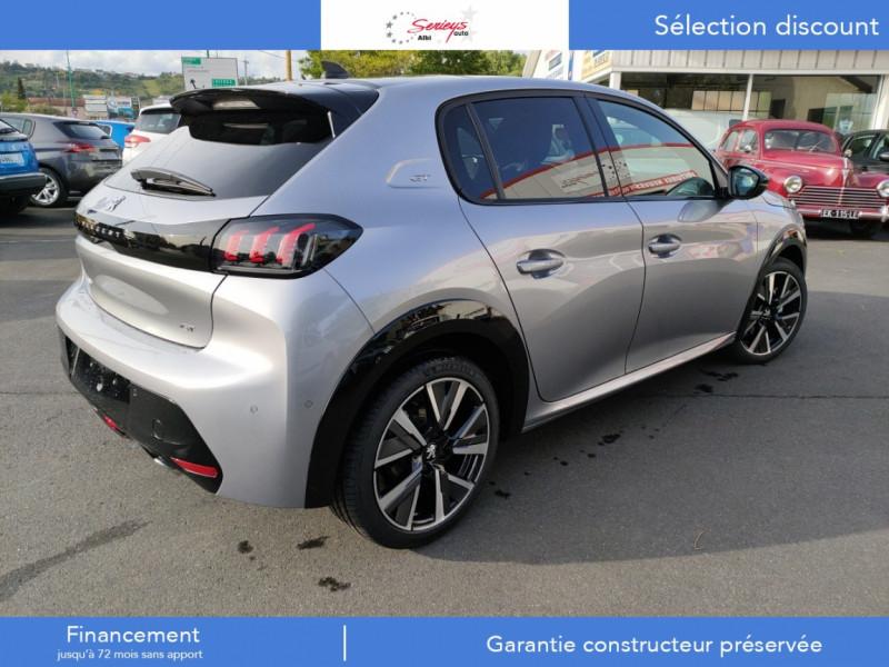 Photo 11 de l'offre de PEUGEOT 208 GT Pack BlueHDi 100 Camera AR+Toit Pan à 23880€ chez Garage Serieys Auto