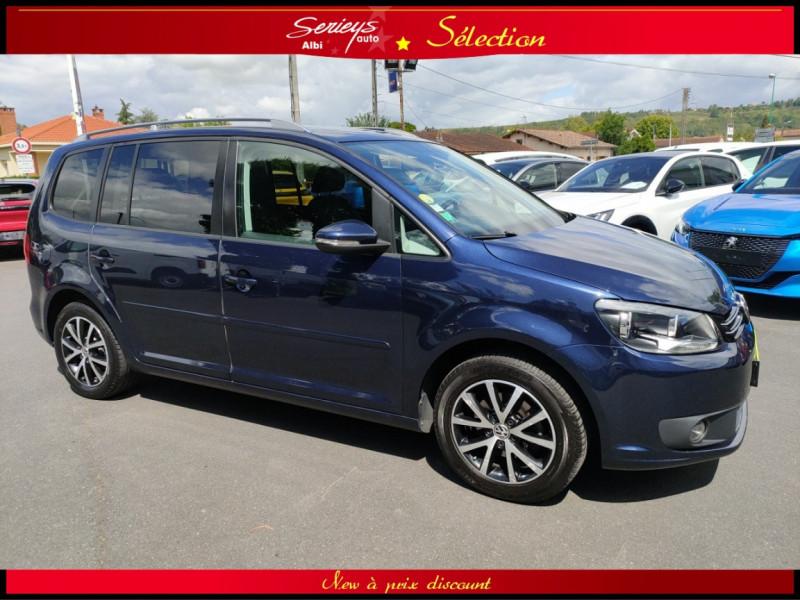 Photo 13 de l'offre de VOLKSWAGEN TOURAN Confort line 1.6 TDI 105 JA à 10480€ chez Garage Serieys Auto