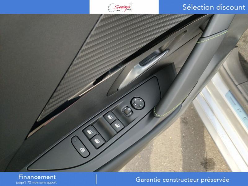 Photo 6 de l'offre de PEUGEOT 208 GT Pack BlueHDi 100 Camera AR+Toit Pan à 23880€ chez Garage Serieys Auto