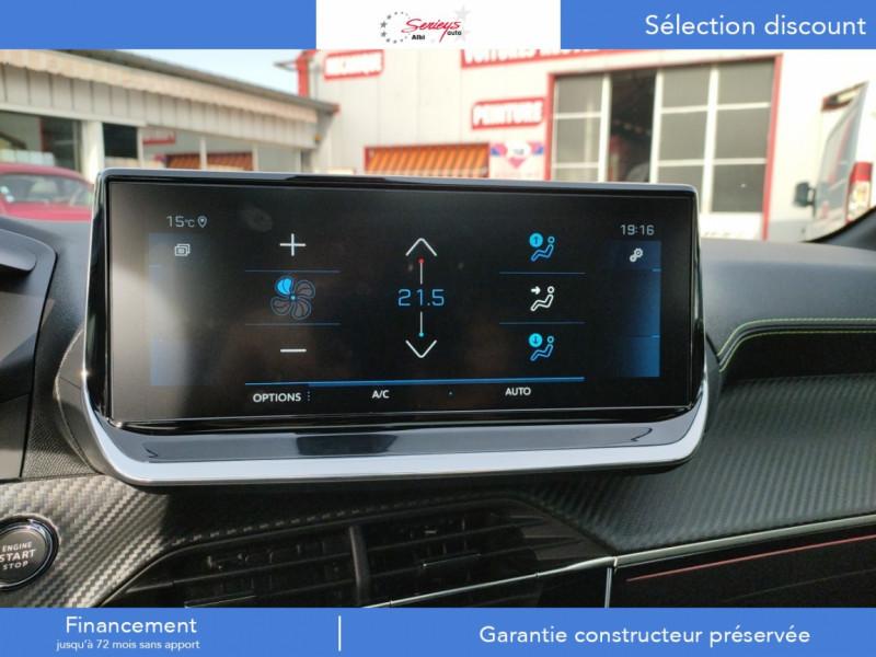 Photo 18 de l'offre de PEUGEOT 208 GT Pack BlueHDi 100 Camera AR+Toit Pan à 23880€ chez Garage Serieys Auto