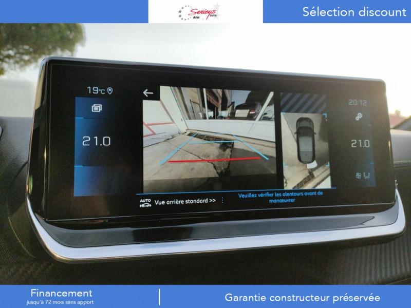 Photo 3 de l'offre de PEUGEOT 208 GT Pack BlueHDi 100 Camera AR+Toit Pan à 23880€ chez Garage Serieys Auto