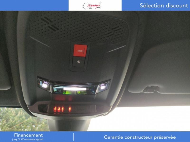 Photo 29 de l'offre de PEUGEOT 208 GT Pack BlueHDi 100 Camera AR+Toit Pan à 23880€ chez Garage Serieys Auto