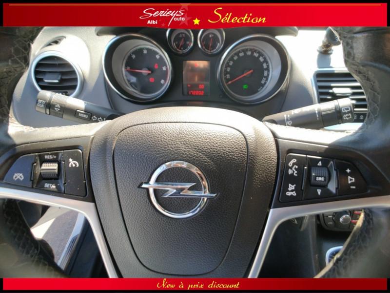 Photo 11 de l'offre de OPEL MERIVA Cosmo 1.3 CDTI 95 JA16+REGUL+CLIM AUTO à 5880€ chez Garage Serieys Auto