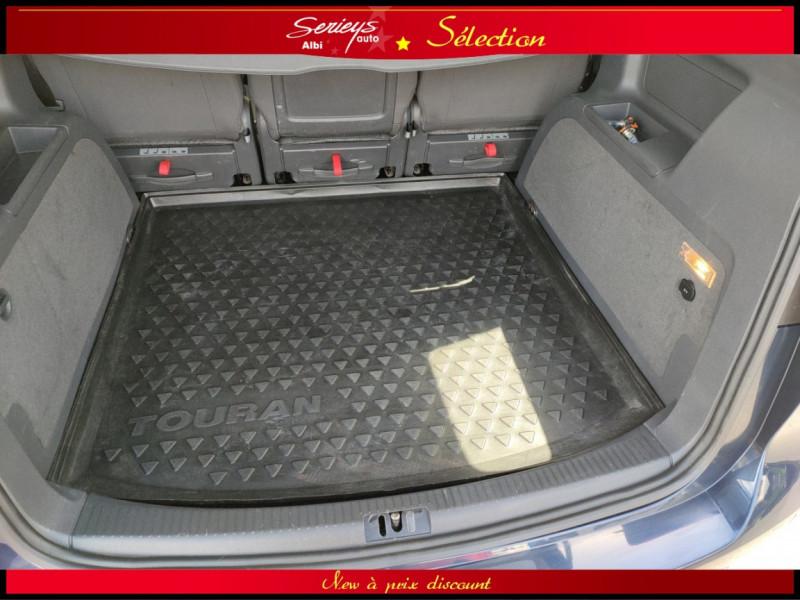 Photo 4 de l'offre de VOLKSWAGEN TOURAN Confort line 1.6 TDI 105 JA à 10480€ chez Garage Serieys Auto