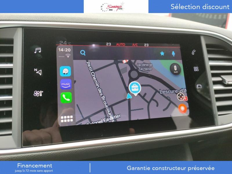 Photo 35 de l'offre de PEUGEOT 308 GT Pack BlueHDi 130 EAT8 TOIT PANOJA18 à 28000€ chez Garage Serieys Auto