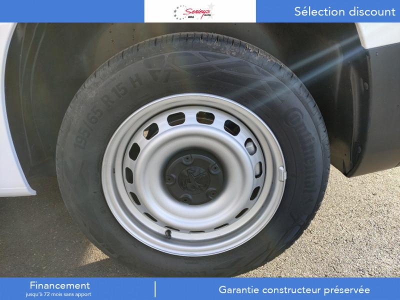 Photo 25 de l'offre de PEUGEOT PARTNER FGN PRO PURETECH 110 CLIM+REGUL+2P à 15980€ chez Garage Serieys Auto