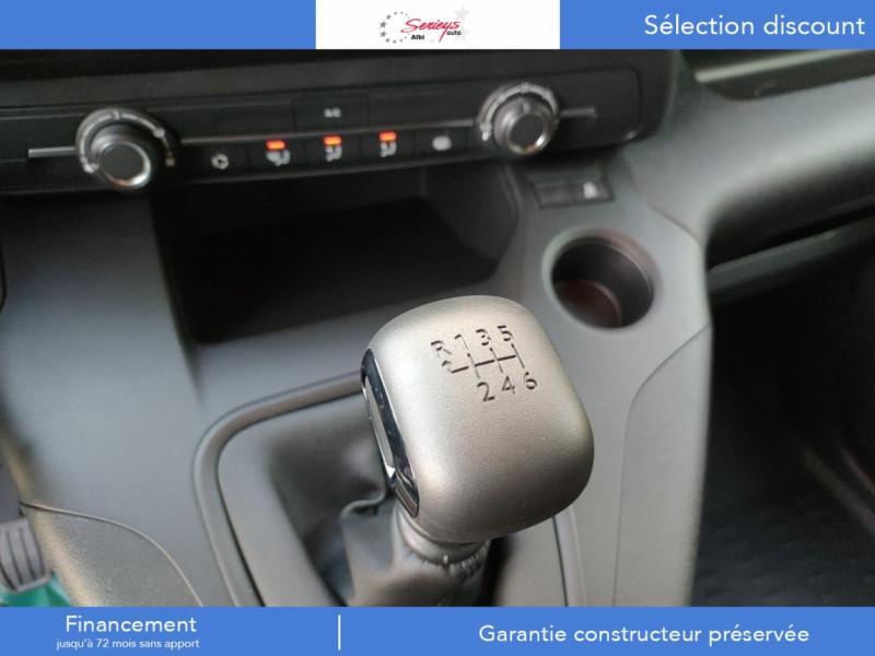 Photo 10 de l'offre de PEUGEOT PARTNER FGN PRO PURETECH 110 CLIM+REGUL+2P à 15980€ chez Garage Serieys Auto