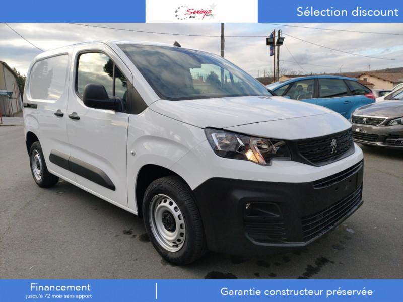 Peugeot PARTNER FGN PREMIUM BLUEHDI 100 3 PL Diesel BLANC Neuf à vendre