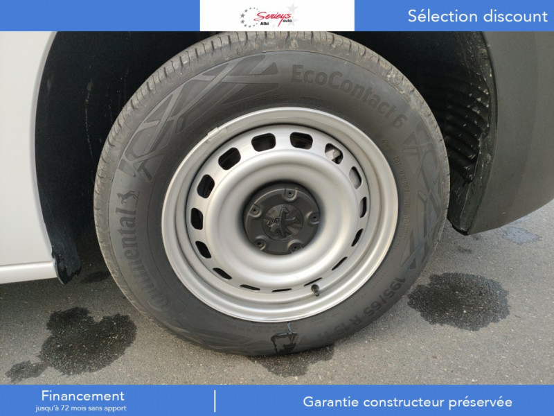 Photo 12 de l'offre de PEUGEOT PARTNER FGN PREMIUM BLUEHDI 100 3PL RADAR à 18900€ chez Garage Serieys Auto