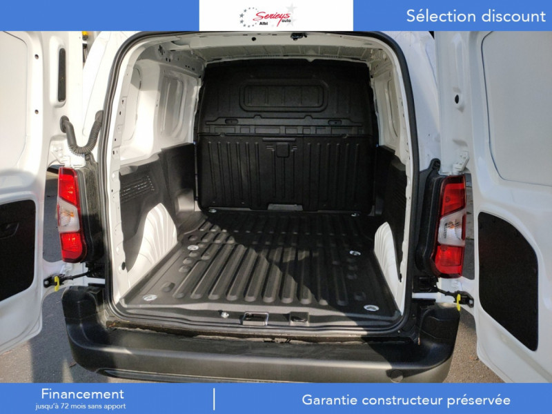 Photo 18 de l'offre de PEUGEOT PARTNER FGN PRO PURETECH 110 CLIM+REGUL+2P à 15980€ chez Garage Serieys Auto