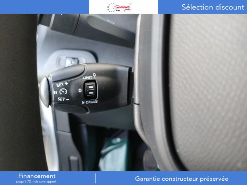 Photo 2 de l'offre de PEUGEOT PARTNER FGN PRO PURETECH 110 CLIM+REGUL+2P à 15980€ chez Garage Serieys Auto