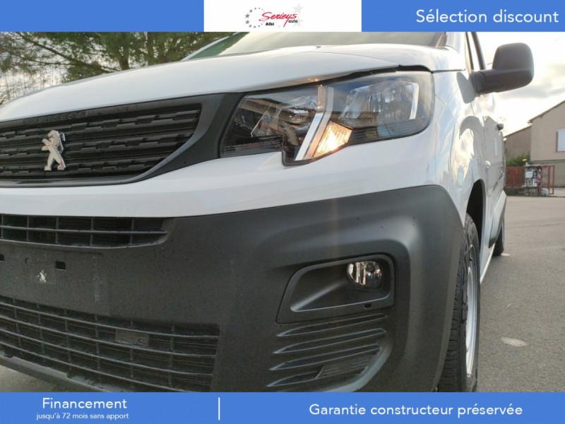Photo 6 de l'offre de PEUGEOT PARTNER FGN PREMIUM BLUEHDI 100 3 PL à 18900€ chez Garage Serieys Auto
