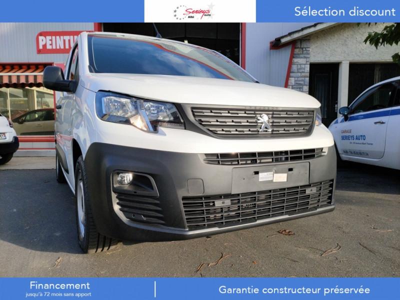 Photo 3 de l'offre de PEUGEOT PARTNER FGN PRO BLUEHDI 100 STD CAMERA+3PL à 18480€ chez Garage Serieys Auto